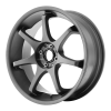 Motegi MR125 17X7.5 Titanium Gray