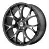 Motegi MR126 17X8 Gloss Black With Milled Accents