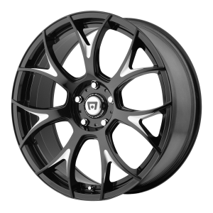 Motegi MR126 Gloss Black With Milled Accents