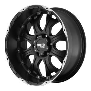 Moto Metal MO959 20X10 Matte Black Machined