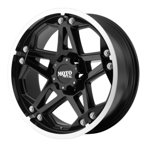 Moto Metal MO960 18X9 Gloss Black With Machined Face