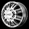 Moto Metal MO963 17X6 Bright Pvd