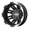 Moto Metal MO963 17X6 Matte Black Machined