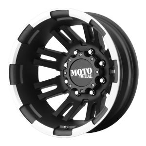Moto Metal MO963 Matte Black Machined