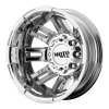 Moto Metal MO963 Rear 16X6 Bright Pvd