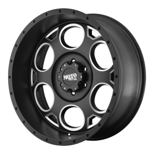 Moto Metal MO964 22X10 Satin Black Milled