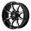 Moto Metal MO970 17X8 Gloss Black With Milled Accents