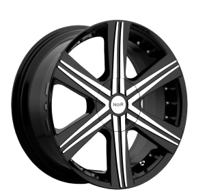 Noir Jet 20X8.5 Black Machined