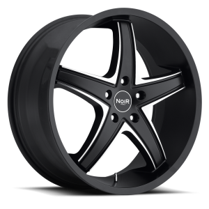 Noir Tux 22X8.5 Black Machined