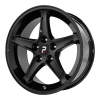OE Creations PR102 17X9 Gloss Black