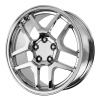 OE Creations PR105 17X9.5 Chrome Plated