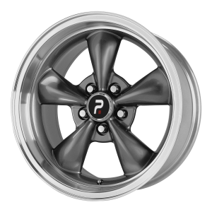 OE Creations PR106 18X10 Anthracite With Machined Lip