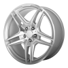 OE Creations PR136 17X8 Hyper Silver