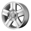 OE Creations PR147 20X8.5 Silver Machined