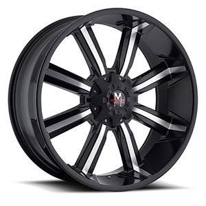 Off Road Monster M03 Black Machined Wheel Packages