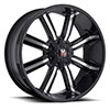 Off Road Monster M03 Black Machined 17 X 9 Inch Wheel