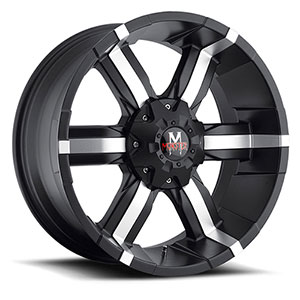Off Road Monster M06 Black Machined Wheel Packages