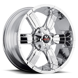 Off Road Monster M06 Chrome Wheel Packages
