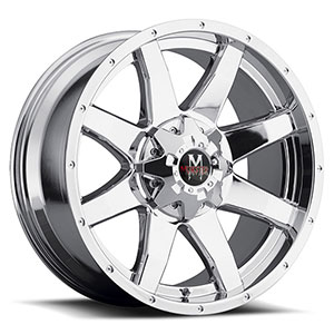 Off Road Monster M08 Chrome Wheel Packages