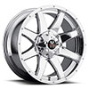 Off Road Monster M08 Chrome 18 X 9 Inch Wheel