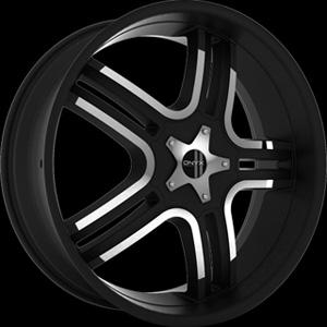Onyx 902 Black 24 x 9.5 Inch Wheel