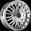 Onyx 901 Chrome 22 x 9 Inch Wheel