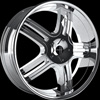 Onyx 902 Chrome 24 x 9.5 Inch Wheel