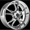 Onyx 903 Chrome 22 x 8 Inch Wheel