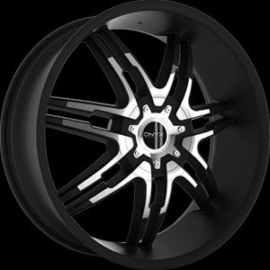 Onyx 904 Black 22 x 9 Inch Wheel