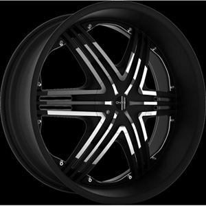 Onyx 906 Black Wheel Packages