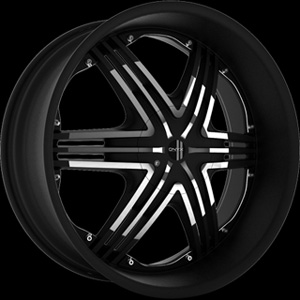 Onyx 906 Black 22 x 8 Inch Wheel