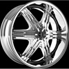 Onyx 906 Chrome 22 x 8 Inch Wheel