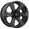 Ballistic Outlaw 902 16 X 8 Inch Wheel