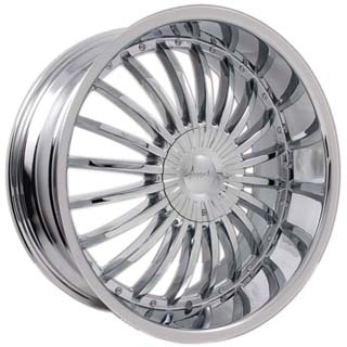 Pinnacle P38 Silo Chrome Wheel Packages