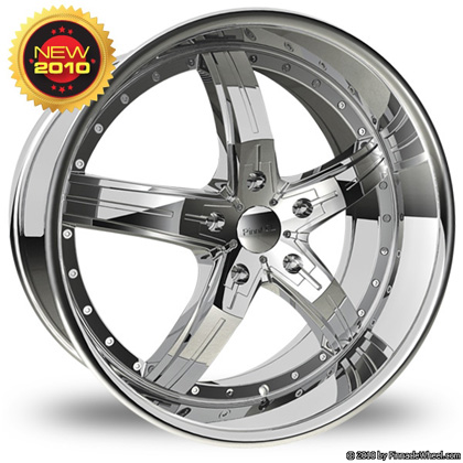 Pinnacle P48 Poison Chrome Wheel Packages
