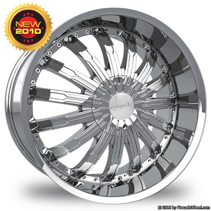 Pinnacle P50 Swagg Chrome Wheel Packages