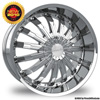 Pinnacle P50 Swagg Chrome RWD 24 x 9.5