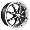 Pinnacle P52 Spider chrome 17 x 7.5