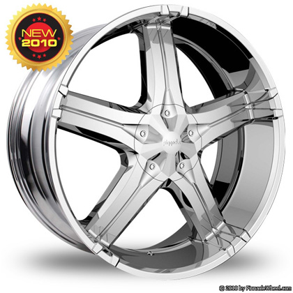 Pinnacle P56 Cruz Chrome Wheel Packages