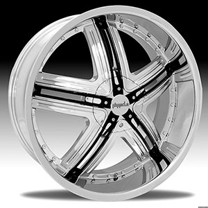 Pinnacle P60 Halo Chrome Wheel Packages