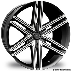 Pinnacle P66 Grotto Black Machined Wheel Packages