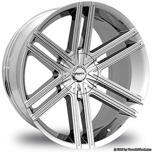 Pinnacle P66 Grotto Chrome Wheel Packages