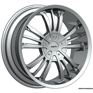 Pinnacle P72 Gunner Chrome Wheel Packages