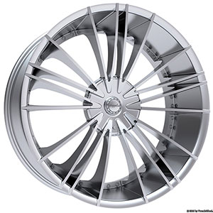 Pinnacle P74 Sage Chrome Wheel Packages