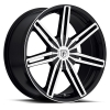 Pinnacle  P76 Ethos 22X10.5 Black