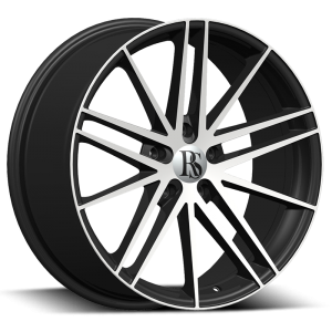 Red Sport RSW-120A 18X9 Black Machined