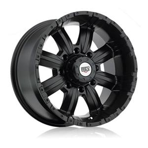 Rev 808 Dirty Harry Matte Black Wheel Packages