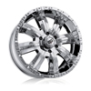 Rev 808 Dirty Harry Chrome 17 X 9 Inch Wheels