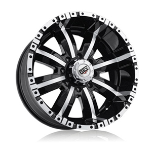 Rev 808 Dirty Black Machined Wheel Packages