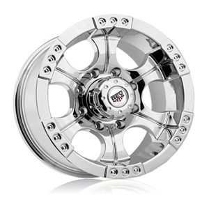 Rev 824 Shooter Chrome 15 X 8 Inch Wheels